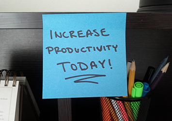 Incrementa tu productividad